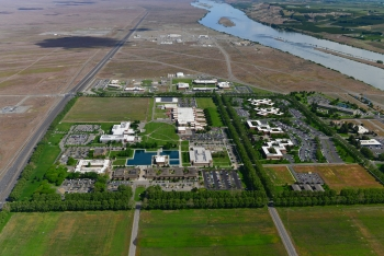 Aerial view of Pacific Northwest National Laboratory (PNNL).