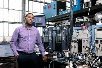 David Alexander, post graduate researcher at Los Alamos National Laboratory