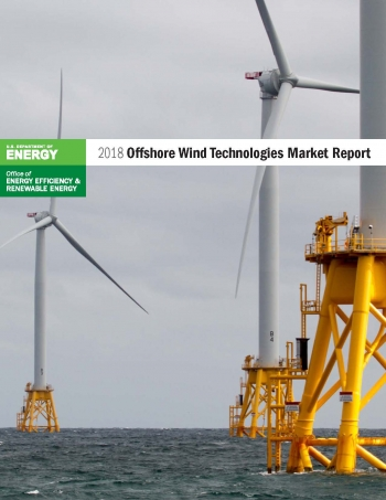 Cover of the 2018 Offshore Wind Technologies Market Update