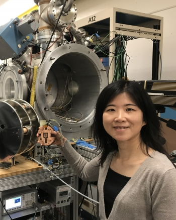 Qing Ji works at LBNL
