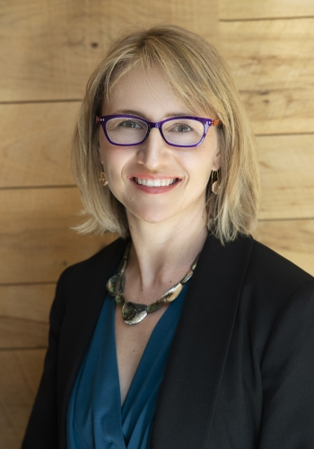 Head and shoulders shot of Elaine Ulrich, senior advisor in Solar Energy Technologies Office.
