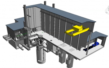 graphic of a sodium cooled fast reactor