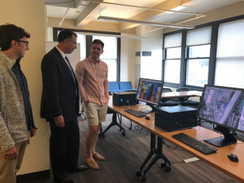 Dimitri Kusnezov, Deputy Under Secretary for A.I. and Technology, visits Micron Technology in Seattle.