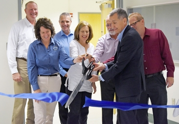The Hanford Site celebrated the opening of the Hanford Low-Activity Waste Annex Operations Center with a ceremonial ribbon cutting Aug. 19.