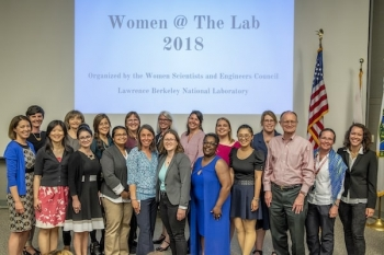 LBNL has a number of outreach activities and events to promote women in STEM.