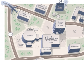 DOE2020 Charleston Hotel Map