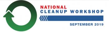 National Cleanup Workshop September 2019 Logo