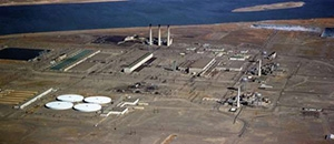 Hundreds of facilities have been demolished or removed around the plutonium production reactors at the Hanford Site. Six of the nine reactors are now in interim safe storage, including the former D and DR Reactors, shown below.