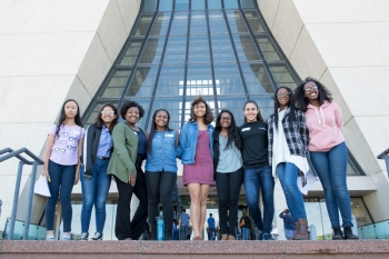 Fermilab promotes gender equity and opportunities to drive women's professional growth.