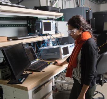 Julieta Giraldez has worked at the National Renewable Energy Laboratory (NREL) in Golden, Colorado, since June 2011
