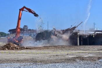 K-27 was the final gaseous diffusion building demolished in Oak Ridge. EM completed the project in 2016, marking the first time in the world that feat had been accomplished.