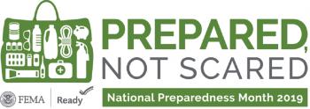 National Preparedness Month 2019 Logo