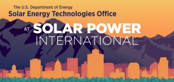SETO at Solar Power International 2019