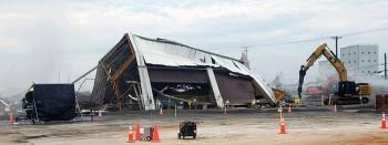 Oak Ridge crews spent several months completing deactivation work to prepare the K-1423 Toll Enrichment Facility for demolition.