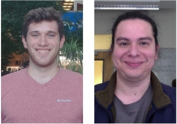 Ryan Howell (L), and Douglas Tuckler (R) have been awarded Office of Science Graduate Student Research fellowships.