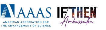 IF/THEN logo from AAAS