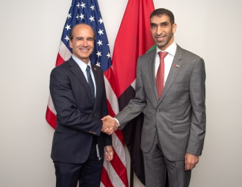 Bilateral Meeting with Under Secretary of Energy Mark W. Menezes and UAE Minister of Climate Change and Environment H.E. Thani Alzeyoudi
