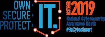 National Cybersecurity Awareness Month 2019 blog header