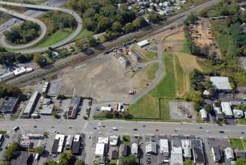 Colonie, New York, Site aerial photograph.