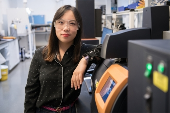 Shuang Cui works at the National Renewable Energy Laboratory.