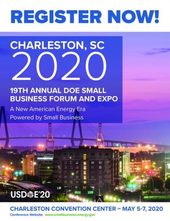 DOE 2020 Register Now Flyer and Logo