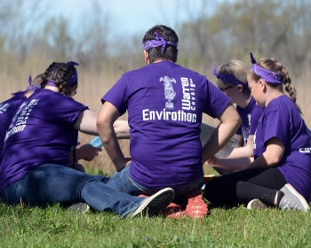 """The Ohio Region IV """"Envirothon,"""" held April 25, 2017, hosted over 500 high school students who participated in competitive testing on several natural resource topics."""