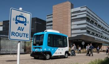 automated vehicle at National Renewable Energy Laboratory