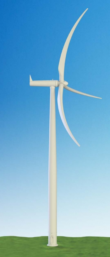graphic of a wind turbine.