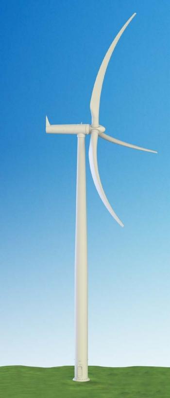 graphic of a wind turbine.