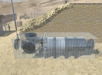 remote location microreactor