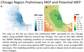 Chicago Region Preliminary MEP and Potential MEP