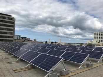 alaska largest rooftop solar array