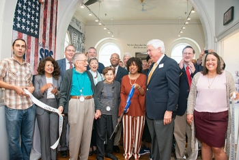 """The Savannah River Site Museum's reopening and unveiling of the new """"6,000 Stories"""" exhibit brought together former residents, community leaders, and site employees to celebrate the preservation of an important part of the area's history."""