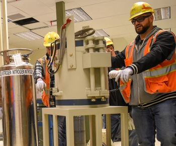 First Lab Equipment Arrives for Hanford's WTP