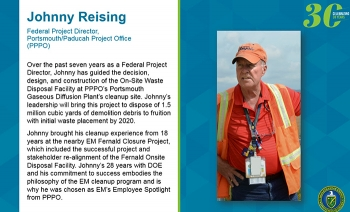 Celebrating 30 Years of EM: Employee Spotlight
