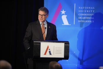 Secretary Perry Addresses the National Security Commission on Artificial Intelligence