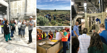 ICP CAB members participated in an archaeological and facilities tour of the Idaho Site in June 2019.