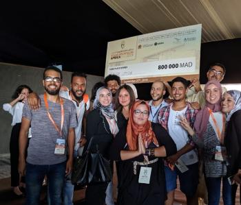 The Solar-ution team won third place at the inaugural Solar Decathlon Africa.