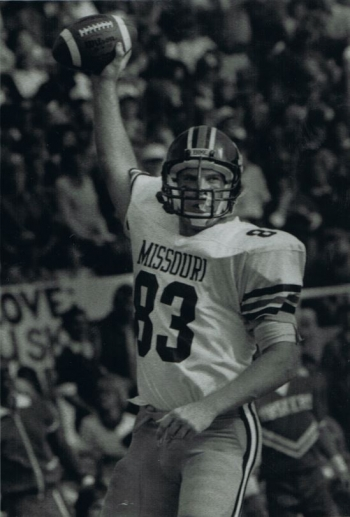 NNSA Kansas City Field Office Assistant Manager Andy Gibler played as a tight end for the Missouri Tiger football team.