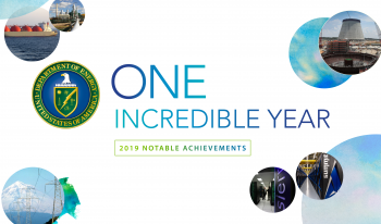One incredible year. 2019 was full of accomplishments for DOE.