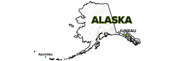 Amchitka, Alaska, Site Map