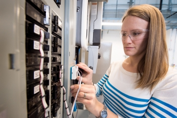 Bethany Sparn works at the National Renewable Energy Laboratory
