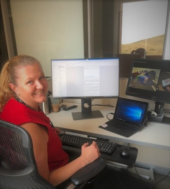 Sarah Truitt works at NREL.