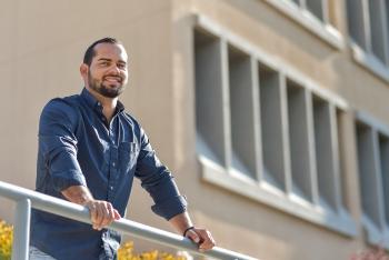 Daniel Lizama Molina is a year-round intern from University of Puerto Rico, Mayagüez, studying geomechanics at Sandia National Laboratories.