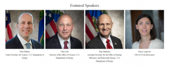 4 images of each of the features speakers.