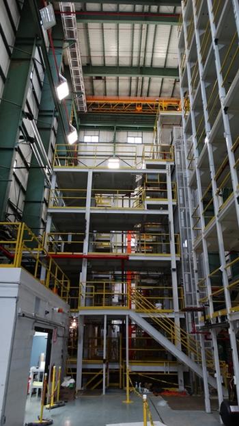 Crews have begun to deactivate Building K-1600, a former test and demonstration facility for uranium enrichment centrifuges.