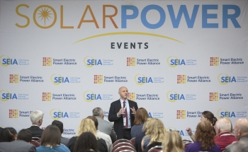 EERE Assistant Secretary Daniel R Simmons at Solar Power International