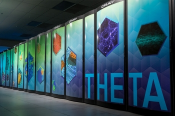 Theta is one of the supercomputers at the Argonne Leadership Computing Facility. Ian Foster has helped develop new technologies so scientists can get the most out of using these computers.