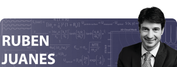 Ruben Juanes' Early Career Award helped develop a program to investigate fundamental mechanisms of fluid-fluid displacement in porous media.