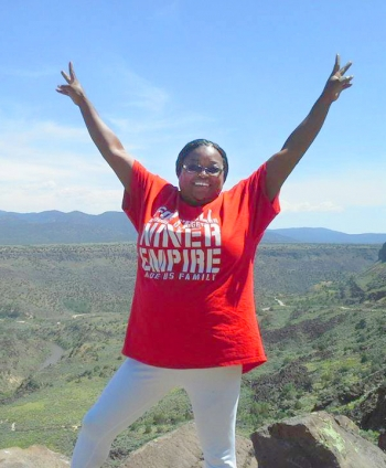 Michelle McClenehan of NNSA's Sandia Field Office is rooting for the 49ers in Super Bowl LIV.